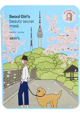 Seoul Girl's Beauty Secret Brightening Sheet Mask