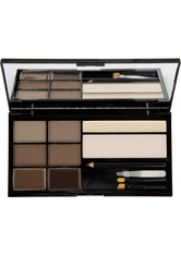 MAKEUP REVOLUTION - Makeup Revolution - Augenbrauen Set - Ultra Brow - Bulletproof - Medium to Dark - AUGENBRAUEN
