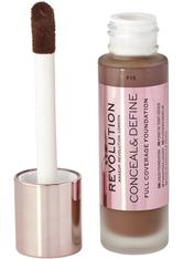 Makeup Revolution - Foundation - Conceal & Define Foundation F15