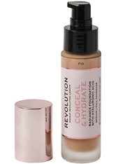 Revolution - Foundation - Conceal & Hydrate Foundation - F10