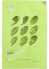 HOLIKA HOLIKA - Holika Holika - Gesichtsmaske - Pure Essence Mask Sheet - Green Tea - Tuchmasken