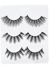 ACE BEAUTE - Faux Mink Lashes City Girl Eyelash Trio - FALSCHE WIMPERN & WIMPERNKLEBER
