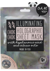 Chok Chok Illuminating Holographic Sheet Mask With Hyaluronic Acid And Citrus Oils