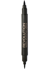 MAKEUP REVOLUTION - Makeup Revolution - Flüssig Eyeliner - Awesome Double Flick Thick and Thin - EYELINER