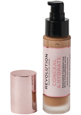 Revolution - Foundation - Conceal & Hydrate Foundation - F12