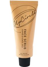 UpCircle Reinigung Kaffee Gesicht Scrub - Blumen Mix Gesichtspeeling 100.0 ml