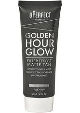 Golden Hour Glow Filter Effect Matte Tan Sundown