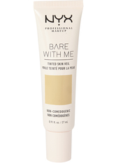 NYX PROFESSIONAL MAKEUP - NYX Professional Makeup Bare With Me Tinted Skin Veil Flüssige Foundation  27 ml Nr. 02 - Vanilla Nude - Bb - Cc Cream