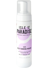 Isle of Paradise Selbstbräuner Dark Self-Tanning Mousse Selbstbräuner 200.0 ml