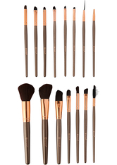 BH COSMETICS - 15 Piece Rose Gold Brush Set - MAKEUP PINSEL