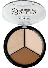 NYX Professional Makeup 3 Steps to Sculpt  Make-up Palette 15 g Nr. 01 - Fair