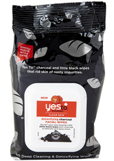 YES TO - yes to Tomatoes Detoxifying Charcoal Facial Wipes - CLEANSING