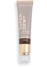 MAKEUP REVOLUTION - Superdewy Tinted Moisturiser Chestnut - Bb - Cc Cream