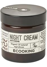 Ecooking Feuchtigkeitspflege Night Cream Gesichtscreme 50.0 ml
