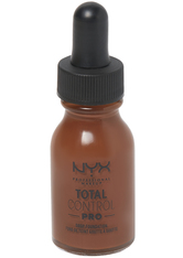 NYX Professional Makeup Total Control Pro Drop Controllable Coverage Foundation 13ml (Various Shades) - Deep Ebony