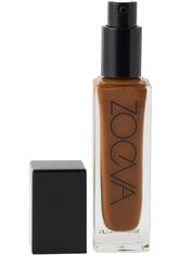 ZOEVA Authentik Skin Foundation  Flüssige Foundation 30 ml Nr. 390N Soulful