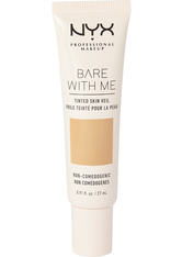 NYX PROFESSIONAL MAKEUP - NYX Professional Makeup Bare With Me Tinted Skin Veil Flüssige Foundation  27 ml Nr. 03 - Natural Soft Beige - BB - CC CREAM