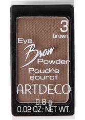 ARTDECO Eye Brow Powder  Augenbrauenpuder  0.8 g Nr. 3 - Brown