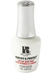 RED CARPET - Red Carpet Manicure Fortify & Protect Base Coat LED Gel Polish 9ml - Base & Top Coat
