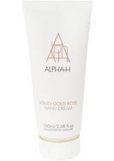 Alpha-H Handpflege Liquid Gold Rose Hand Cream Creme 100.0 ml