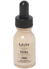NYX Professional Makeup Total Control Pro Drop Controllable Coverage Foundation 13ml (Various Shades) - Porcelain