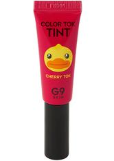 G9SKIN - G9SKIN Color Tok Tint 5ml (verschiedene Farbtöne) - 01. Cherry Tok - LIPGLOSS