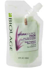 Biolage HydraSource Dry Hair Deep Treatment Pack Hydrating Mask for Dry Hair 100ml