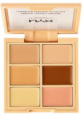 NYX Professional Makeup 3C Conceal, Correct, Contour Concealer Palette 9 g Nr. 01 - Light