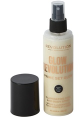 MAKEUP REVOLUTION - Revolution - Gesicht & Körperspray - Glow Revolution - Illuminating Face & Body Spray - Eternal Gold - FIXIERUNG