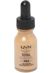NYX Professional Makeup Total Control Pro Drop Controllable Coverage Foundation 13ml (Various Shades) - Buff