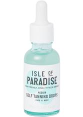Isle of Paradise Selbstbräuner Medium Self-Tanning Drops Selbstbräuner 30.0 ml