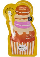 Le Mini Macaron Sweet Mandarin Hand Mask 24ml