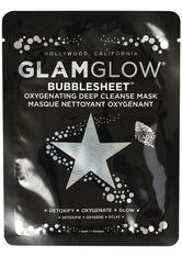 GLAMGLOW Bubblesheet Oxygenating Deep Cleanse Tuchmaske  1 Stk