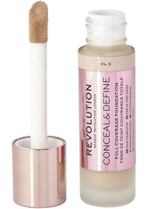 MAKEUP REVOLUTION - Revolution - Foundation - Conceal & Define Foundation - F4.5 - Concealer