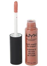 NYX Professional Makeup Soft Matte Lip Cream Liquid Lipstick 8 ml Nr. 09 - Abu Dhabi