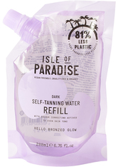 Isle of Paradise Self-Tanning Water Refill Pouch Dark 200ml