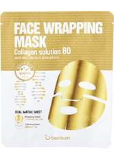 BERRISOM - Berrisom - Face Wrapping Mask Collagen Solution 80 27g x 1pc - Tuchmasken
