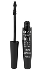 NYX Professional Makeup Doll Eye Long Lash Mascara  8 g Nr. 01 - Black