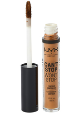 NYX Professional Makeup Can't Stop Won't Stop Contour Concealer (Various Shades) - Cappuccino