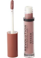 MAKEUP REVOLUTION - Makeup Revolution Sheer Lip Heart race 113 - LIPGLOSS