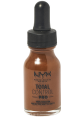NYX Professional Makeup Total Control Pro Drop Controllable Coverage Foundation 13ml (Various Shades) - Deep