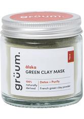 älska Green Clay Face Mask
