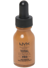 NYX Professional Makeup Total Control Pro Drop Controllable Coverage Foundation 13ml (Various Shades) - Nutmeg