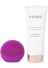 Luna Fofo Face Brush & Micro Foam Cleanser Duo