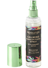 MAKEUP REVOLUTION - Calming Fixing Spray with Canabis Sativa - FIXIERUNG