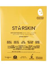 STARSKIN - After Party Brightening Bio Cellulose Second Skin Face Mask - TUCHMASKEN