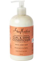 Shea Moisture Coconut & Hibiscus Curl & Shine Conditioner 379 ml