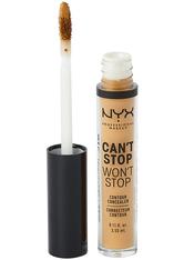 NYX Professional Makeup Can't Stop Won't Stop Contour Concealer (Various Shades) - Caramel