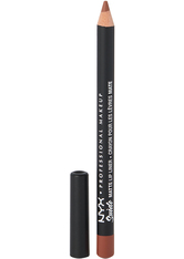 NYX PROFESSIONAL MAKEUP - NYX Professional Makeup Soft Matte Metallic Lip Cream (verschiedene Farbtöne) - London - Lipliner