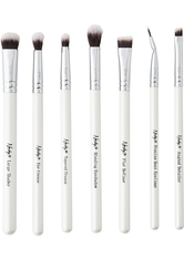 NANSHY - The Eye Brush Set 7 Piece Brush Collection  Pearlescent White - MAKEUP PINSEL